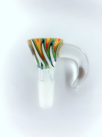 Multicolor Horn - 4  14mm Bowl