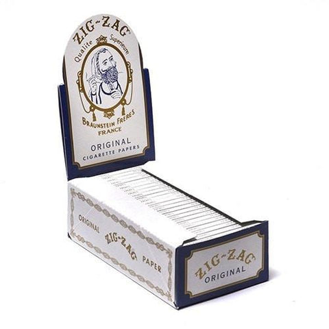 Zig Zag Rolling Papers - Original Single Wide Size 50/pack