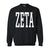 Basics Collection - Black Crew - Zeta Tau Alpha