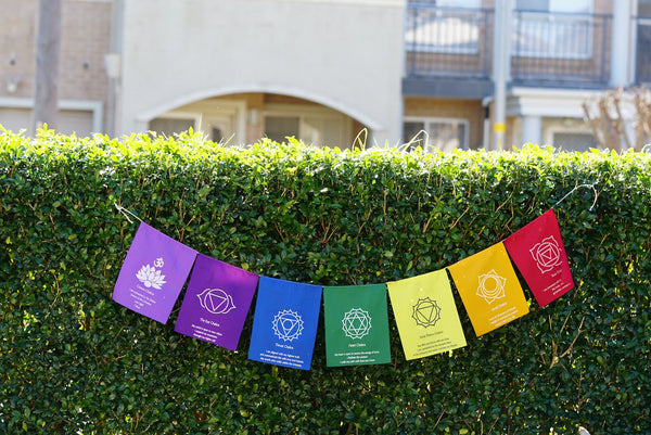 7 Chakra prayer flag for healing and balancing chakra