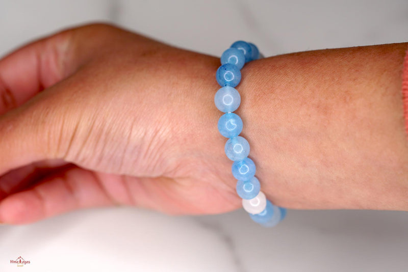 Quality Blue Quartz Beads from Himalayas Shop handmade at Nepal