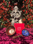 Prayer flag, Bodhi Chitta bracelet, Chakra bowl for healing and meditation, a meaningful gift for this Father's day.
