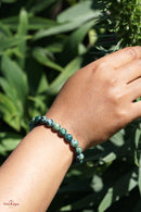 Chrysocolla Bracelets can be used with the Throat Chakra, where it helps with wise communication, or with the Heart Chakra to balance and strengthen, helping one to learn how to live from the truth of the Heart.