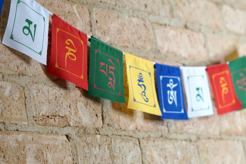 perfect spiritual gift for your loved one to encourage them and fill their life with positive energy| prayer flags | tibetan chakra bowls.