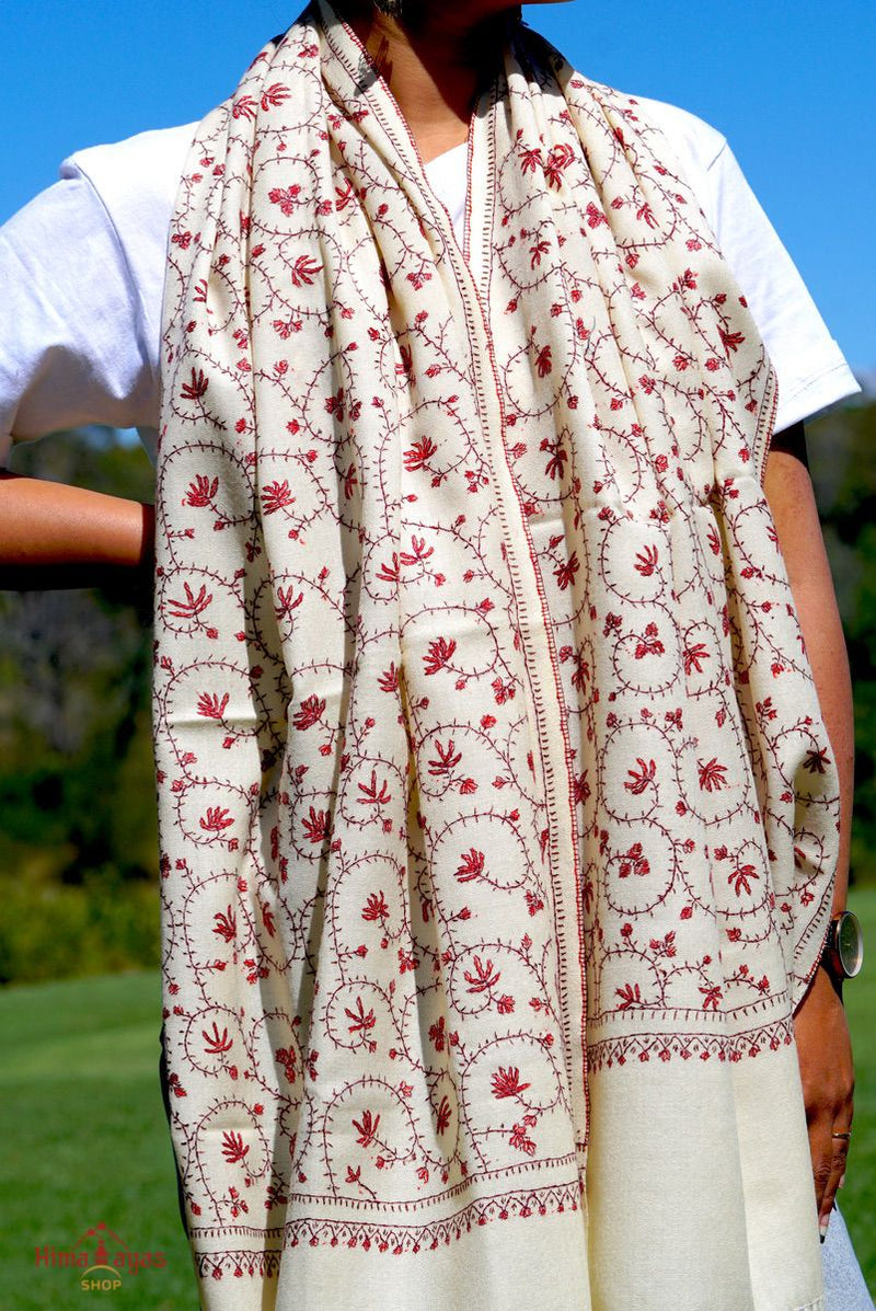 Are you looking for genuine pashmina shawl? Visit our online store for hand embroidered pashmina shawl from Nepal.