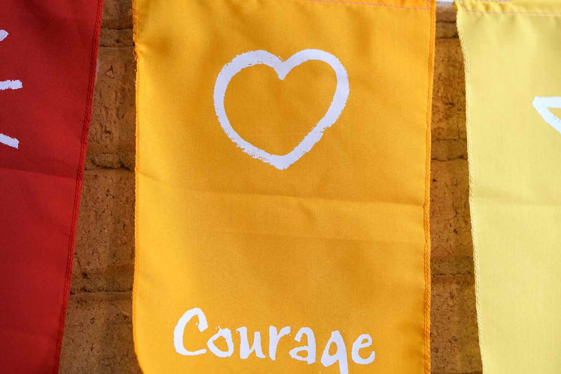 Courage Positivity Flag
