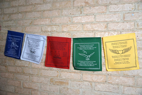 Wisdom Prayer Flag