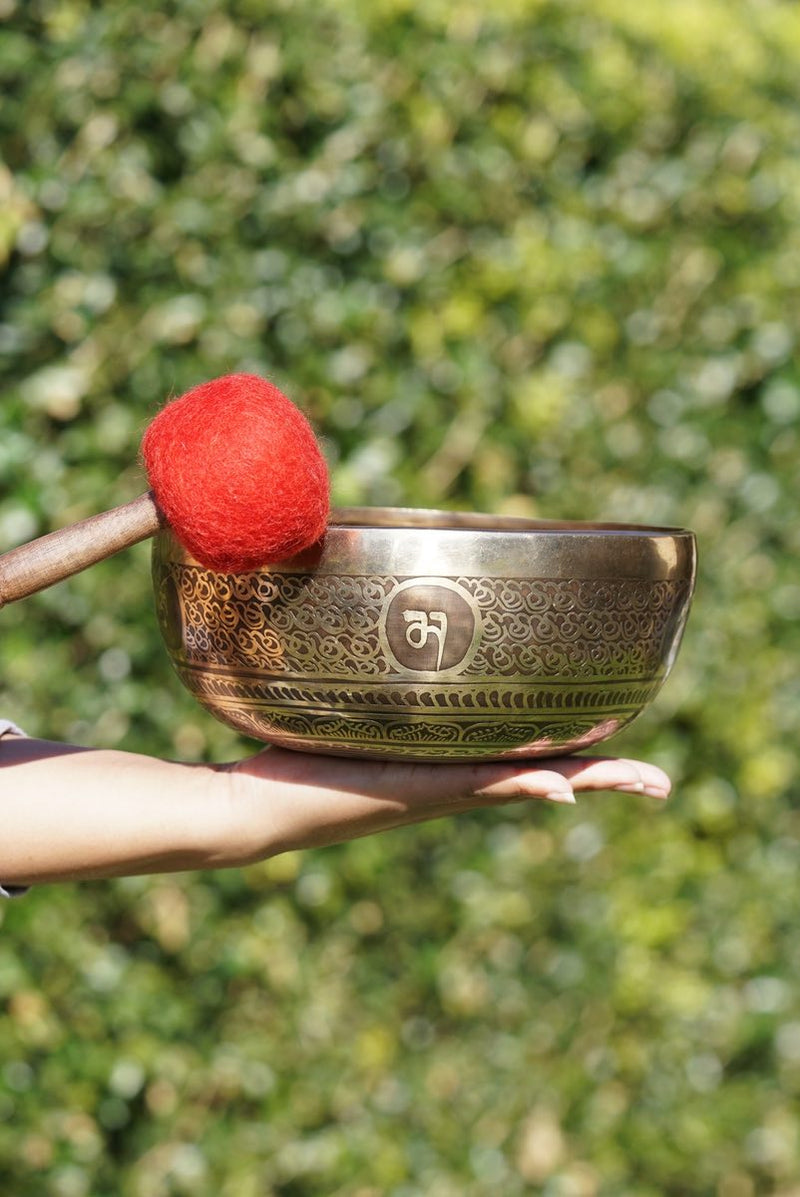 Tibetan Singing Bowl For Sound healing and meditation