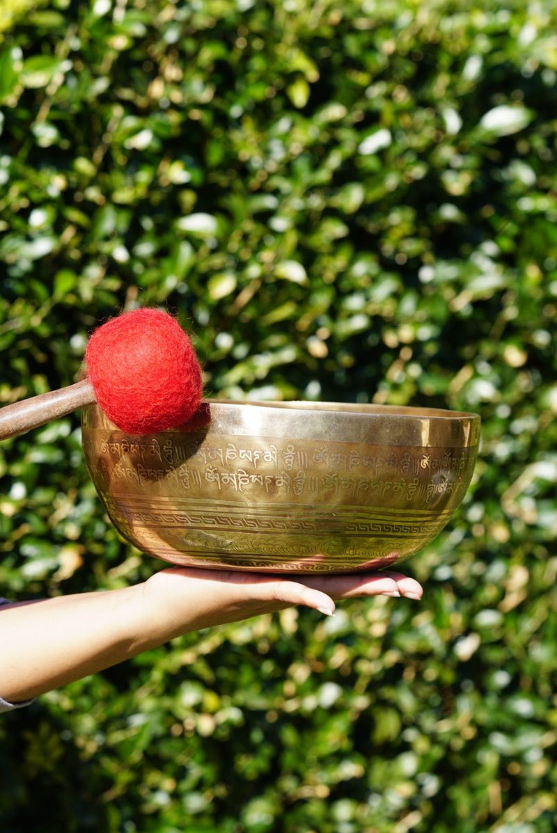 Tibetan Antique Singing Bowl for Chakra healing and balancing