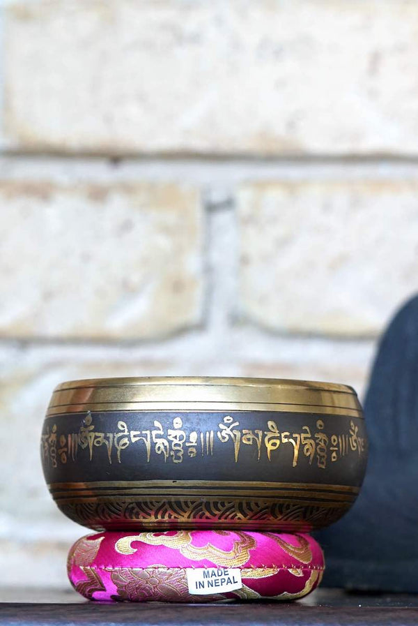 Tibetan Singing Bowl for Chakra healing and balancing