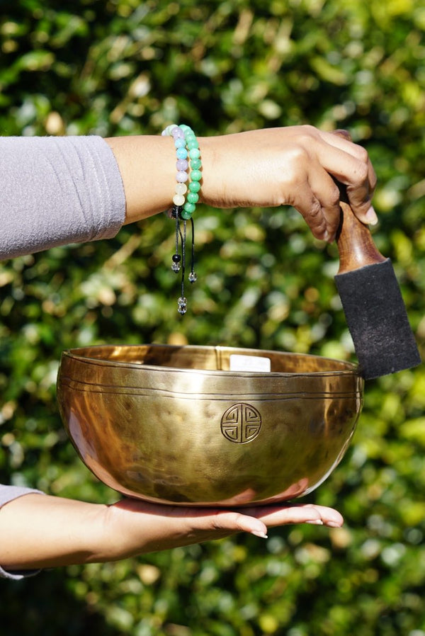 Full Moon Singing Bowl for sound healing and meditation