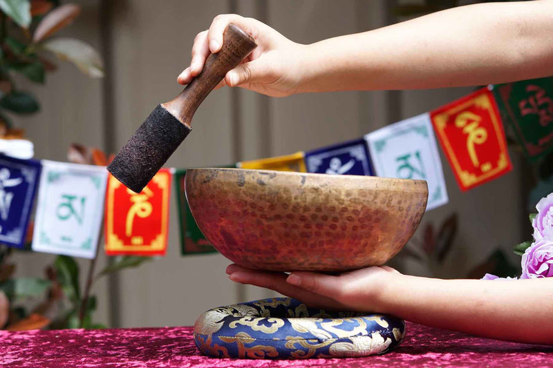High Quality antique singing bowl for sound healing and meditation