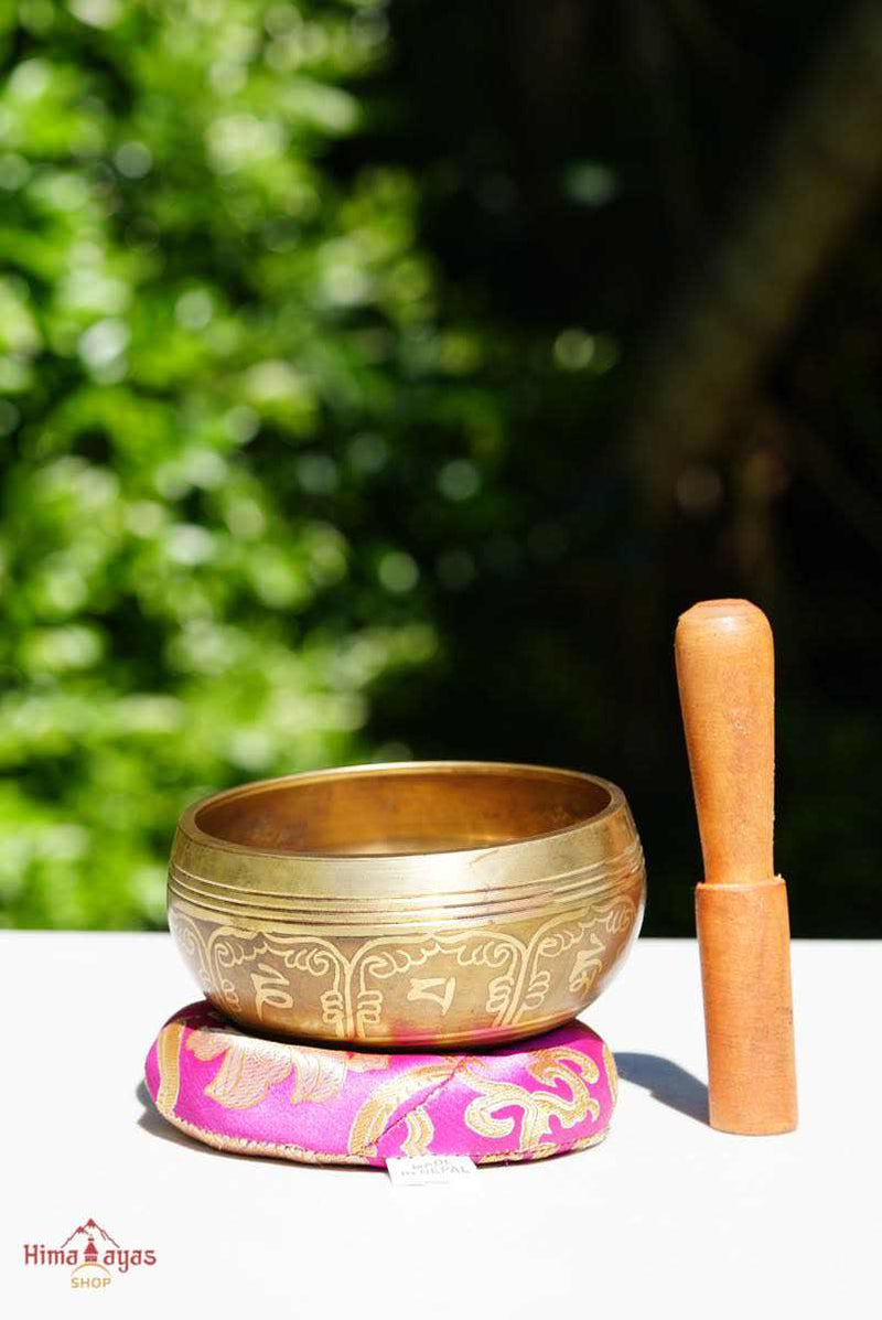 Mini Singing bowl with free cushion and mallet at best prices from Nepal