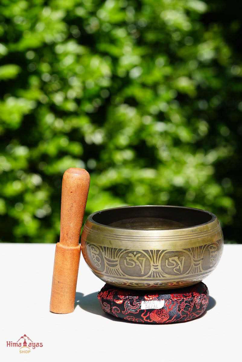 Small size singing bowl for chakra healing and meditation