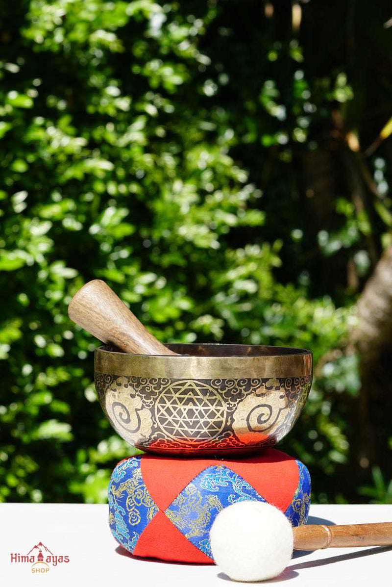Singing bowl for sound healing and meditation from Nepal. All our product are hand pick to ensure the quality. Free Shipping on eligible order.