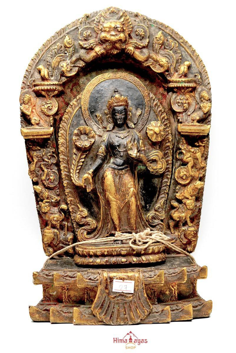 Standing Avalokiteshvara Sculpture antique master pcs collection