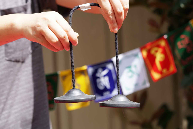 Tingsha bell for aura cleansing and space cleansing