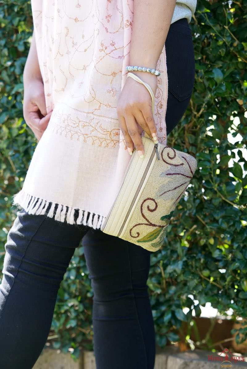 A lightweight 3 Zip everyday women's purse, perfect size for your essentials.