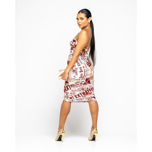 Hook On Me Midi Dress
