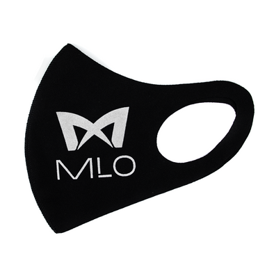 MLO - Single-Layered Breathable Face Mask - Black