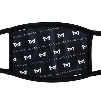 MLO - Double-Layered Breathable Face Mask - Black MLO™ Pattern