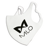 MLO - Single-Layered Breathable Face Mask - White