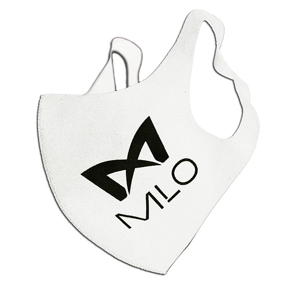 MLO™ Single-Layered Breathable Face Mask - White
