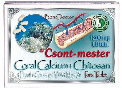 Dr.Chen Csont-mester Coral Calcium Forte Tabletta