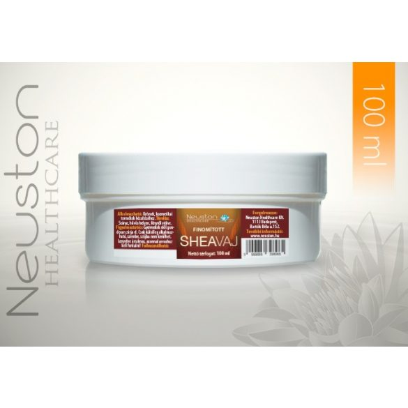 Neuston Shea vaj 100ml finomított