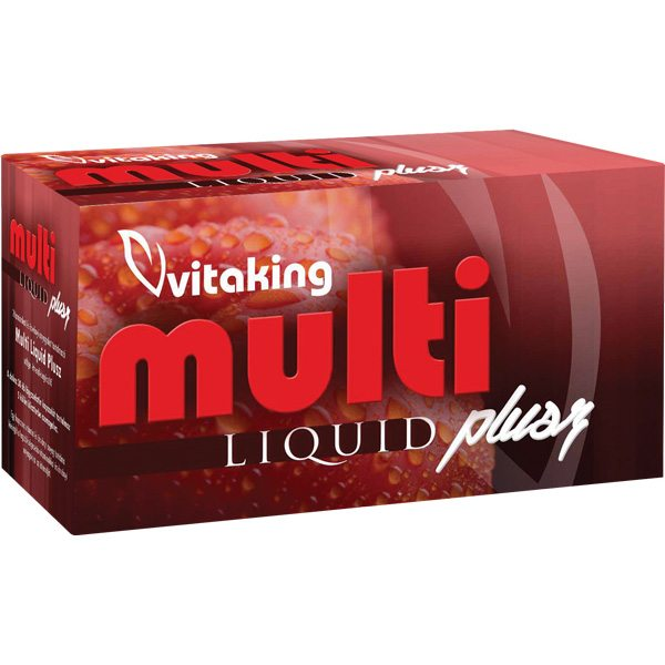 Vitaking multi liquid plusz new 2014 - 30 db