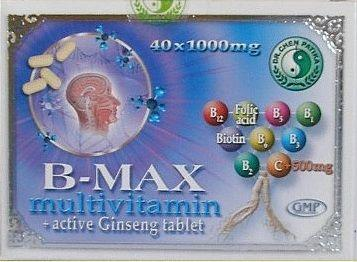 Dr.Chen B-max Multivitamin Tabletta