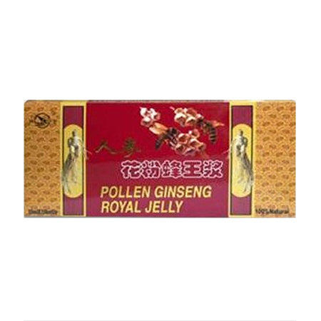Dr.Chen Pollen Ginseng Royal Jelly Ampulla 10x10ml