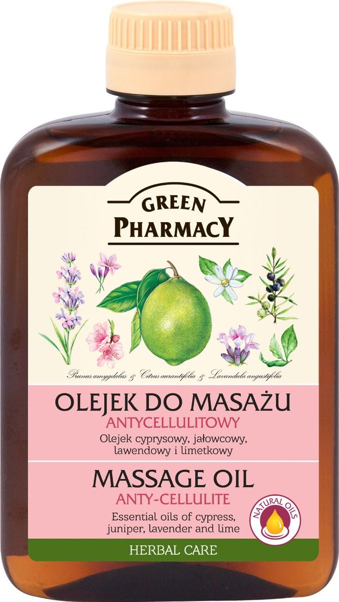 Green Pharmacy Masszázs olaj anti-cellulit 200 ml