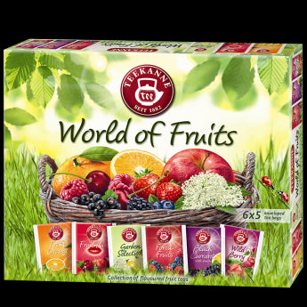 Teekanne Teaválogatás World Of Fruit (6x5g)