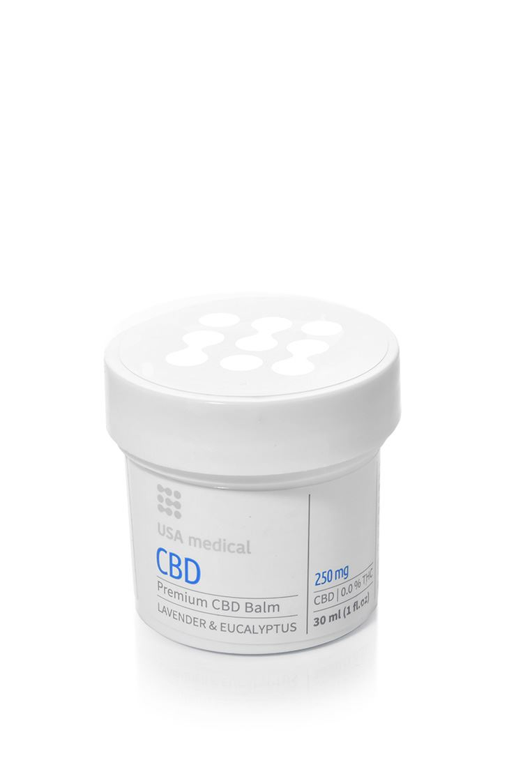 Usa Medical CBD krém / balzsam 250mg 30ml