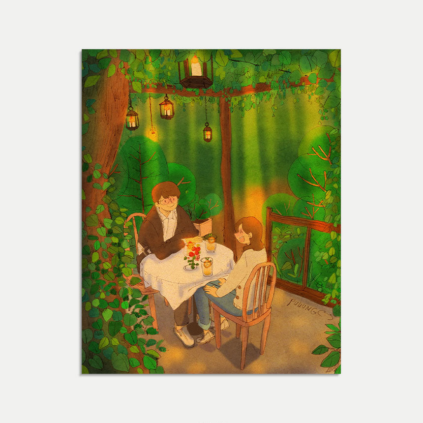 Mini Art Print / Postcard (No. 072), Puuung Collection