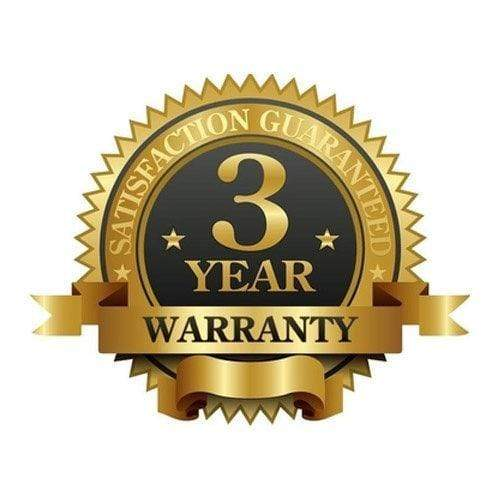3 Year Replacement Warranty