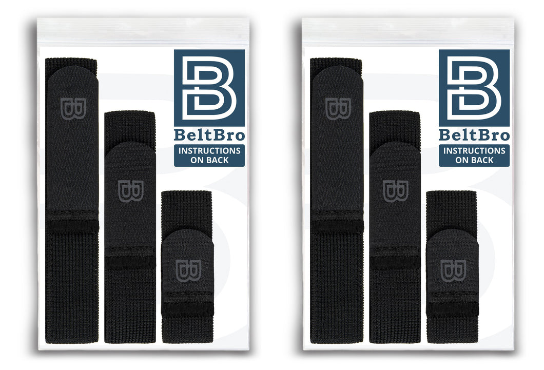 2 Black BeltBro Originals (Buy 1 Get 1 FREE!) - DISCOUNT