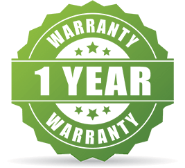 1-Year Replacement Warranty