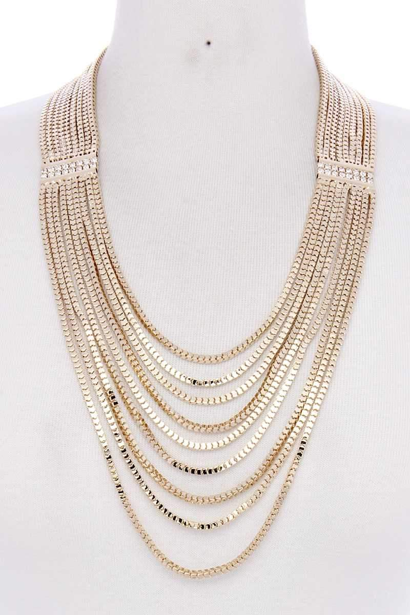 Layer Metal Necklace