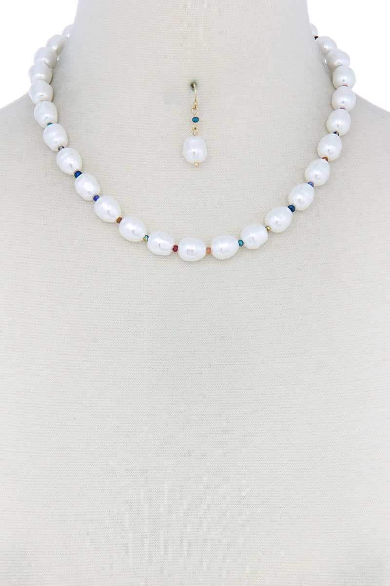 Pearl Bead Necklace
