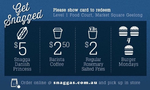 Get Snagged! Loyalty Card