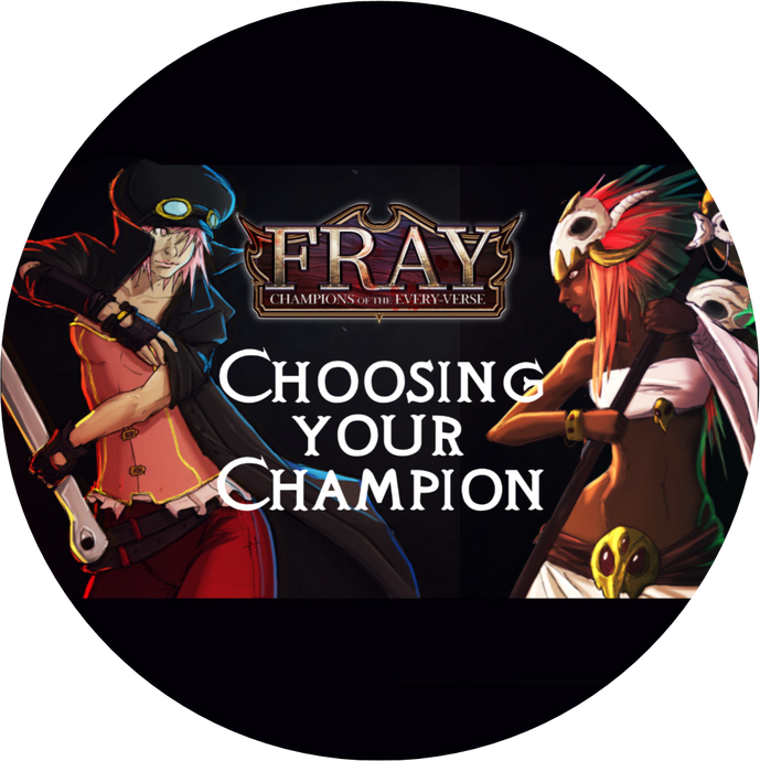 FRAY | CHAMPIONS OF THE EVERY-VERSE | PREVIEW SERIES #1