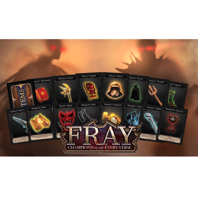 Fray: Champions of the Every-Verse Item Cards Preview