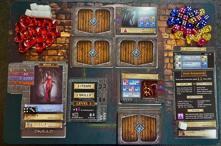 One Deck Dungeon Game