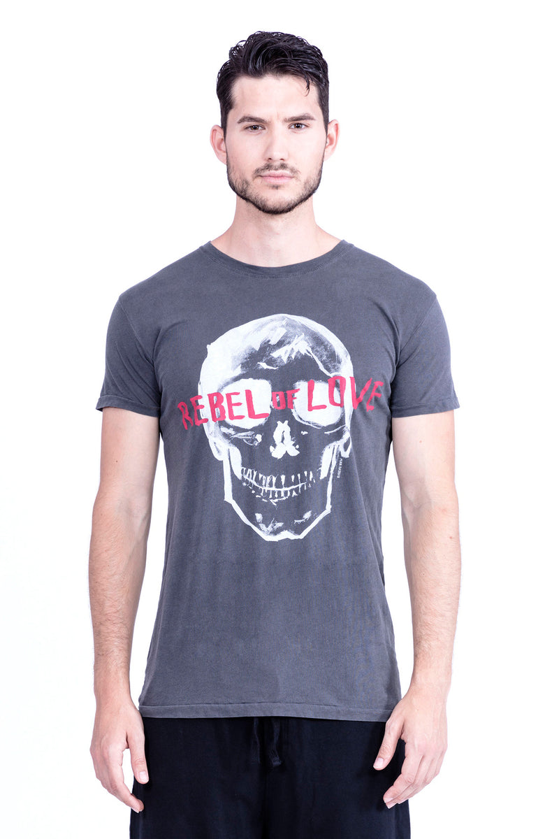 Rebel of Love - Round Neck - Tshirt - Colour Antracite - 2