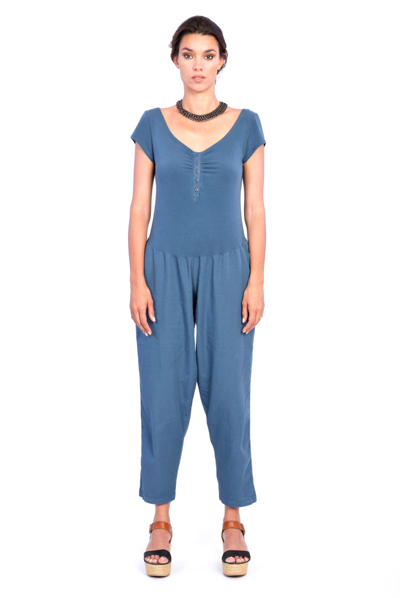Sunset Mono - Jumpsuit -Colour Blue- RV by Elisa F3