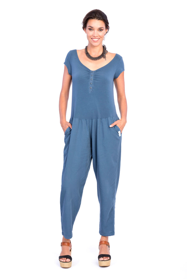 Sunset Mono - Jumpsuit -Colour Blue- RV by Elisa F1