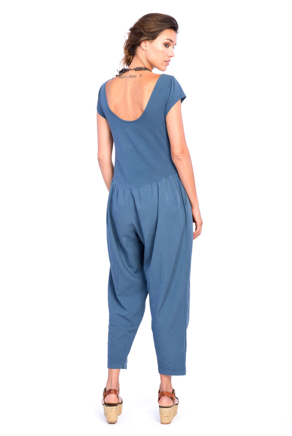 Sunset Mono - Jumpsuit -Colour Blue- RV by Elisa F2