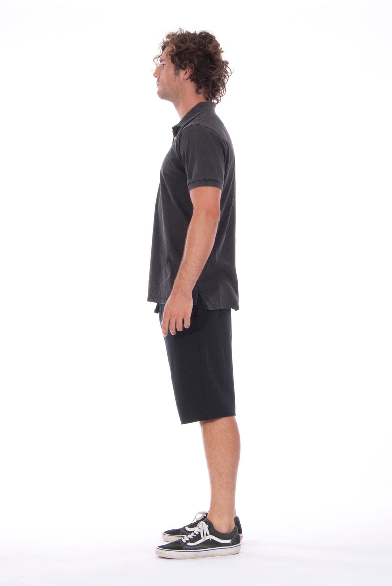 Polo - Colour Antracite and Short Pants - Colour Black - 3